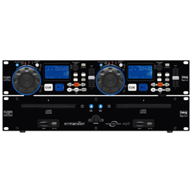 Stageline CD-230USB Dual CD Player With Media Player