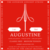 Augustine Classical Guitar Strings, Red,Medium Tension