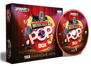 Zoom Pop Box Musicals Karaoke CDG - 133 Tracks - Image 1