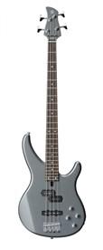 Yamaha TRBX204 Bass Guitar, Grey Metallic - Image 1