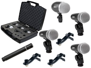 Proel Dmh5xl Drum Mic Kit