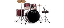 Mapex Tornado Rock/Fusion Drum Kit 2216, Burgundy Red