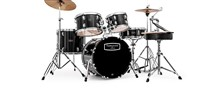 Mapex Tornado Rock/Fusion Drum Kit 2216, Black