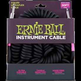 Ernie Ball Ultraflex Coil Guitar Lead 6044