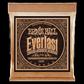 Ernie Ball Everlast Coated Phosphor Bronze 11-52 2548