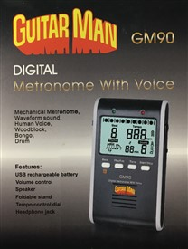Guitar Man GM90 Digital Metronome
