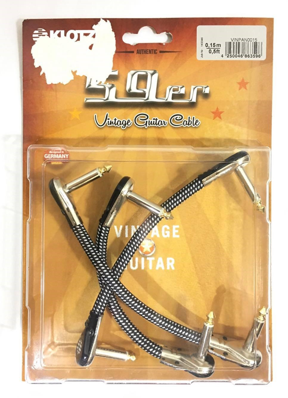 On Stage Stands Ic-20 20 Foot Guitar Lead J-j