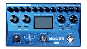 Mooer Ocean Machine Devin Townsend Delay and Reverb Guitar FX