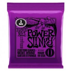 Ernie Ball Power Slinky 11-48 3220 3 Sets