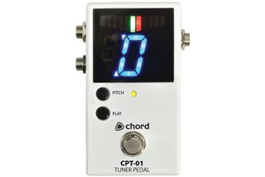 Chord CPT-01 Chromatic Floor Pedal Tuner - Image 1