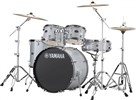 "Yamaha Rydeen Drum Kit with 22"" Kick Drum & Cymbals, Silver Glitter"