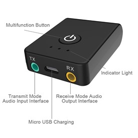 Av-Link Bluetooth 2 in 1 Receiver Transmitter