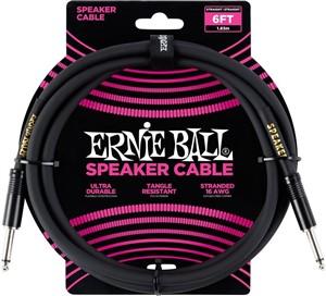 Ernie Ball 6ft Speaker Lead (Guitar Head to Cab)