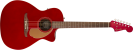 Fender Newporter Player Electro Acoustic, Candy Apple Red, Walnut Fingerboard- Image 1