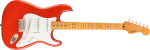 Fender Squier Classic Vibe '50s Stratocaster, Fiesta Red, Maple- Image 2
