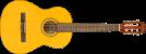 Fender ESC-80 Classical, Natural, Walnut Fingerboard- Image 5